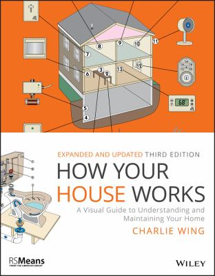 Cover image for How your house works : a visual guide to understanding and maintaining your home