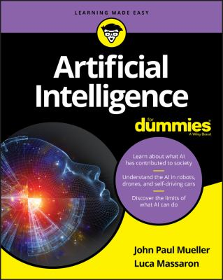 Cover image for Artificial intelligence for dummies