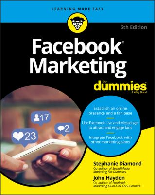 Cover image for Facebook marketing for dummies