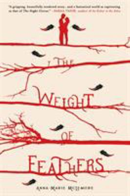 Cover image for The weight of feathers