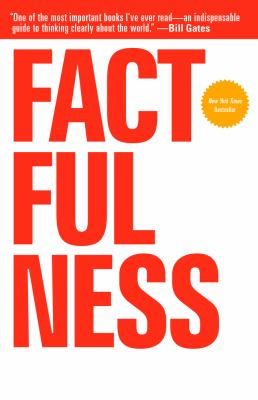 Cover image for Factfulness : ten reasons we're wrong about the world--and why things are better than you think
