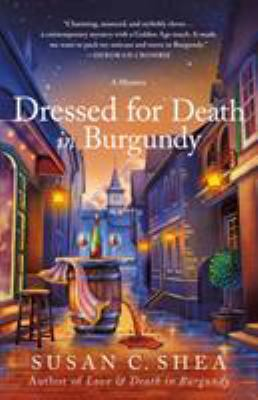 Cover image for Dressed for death in Burgundy