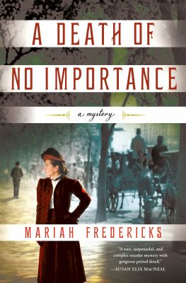 Cover image for A death of no importance