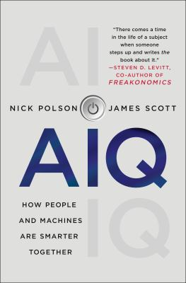 Cover image for AIQ : how people and machines are smarter together