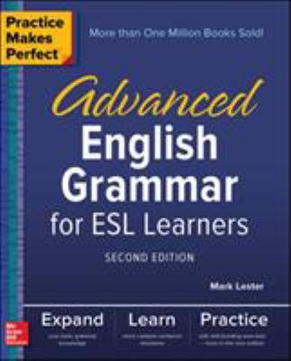 Cover image for Advanced English grammar for ESL learners