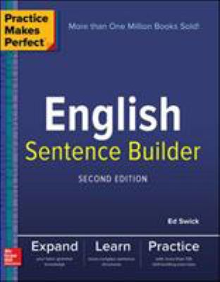 Cover image for English sentence builder