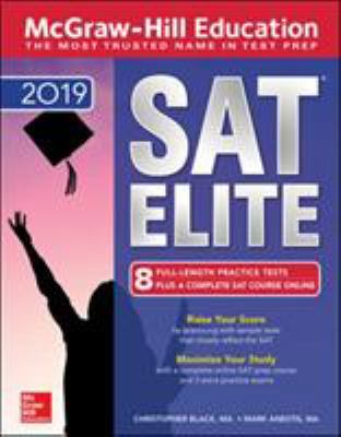 Cover image for McGraw-Hill Education SAT 2019