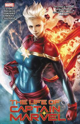 Cover image for The life of Captain Marvel