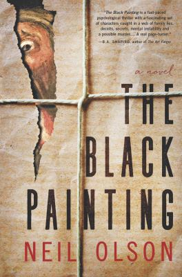 Cover image for The black painting