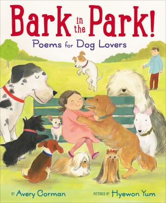 Cover image for Bark in the park! : poems for dog lovers