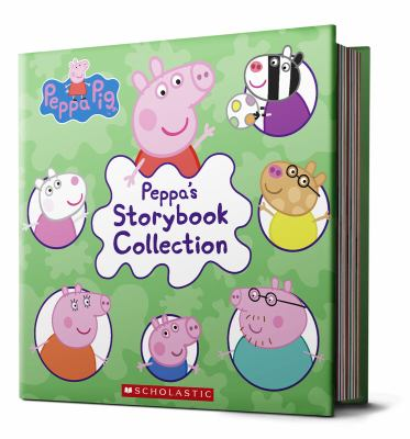 Cover image for Peppa's storybook collection.