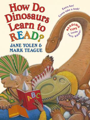 Cover image for How do dinosaurs learn to read?