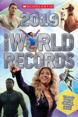 Cover image for Scholastic book of world records 2019