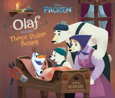 Cover image for Olaf and the three polar bears