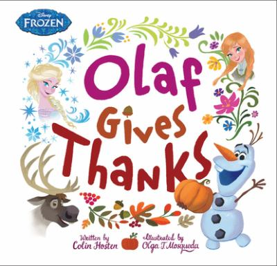 Cover image for Olaf gives thanks