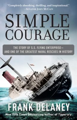 Cover image for Simple courage : a true story of peril on the sea