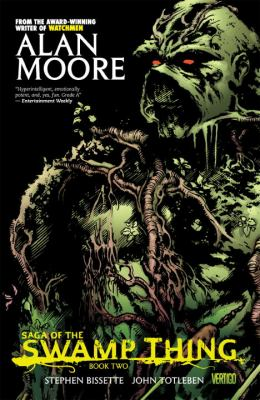 Cover image for Saga of the Swamp Thing book two