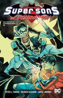 Cover image for Super Sons of tomorrow