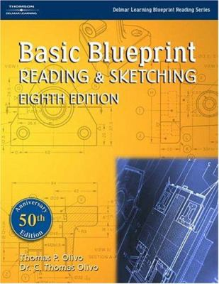 Cover image for Basic blueprint reading and sketching