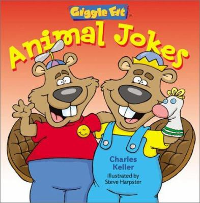 Cover image for Animal jokes