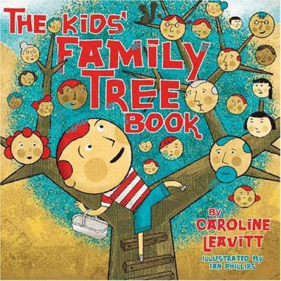 Cover image for Kids' family tree book
