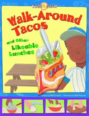 Cover image for Walk-around tacos : and other likeable lunches