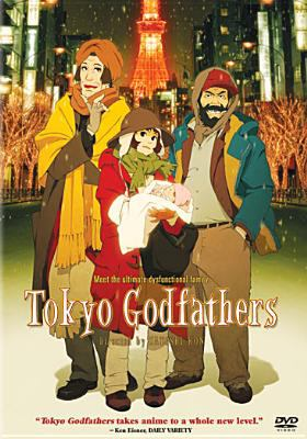 Cover image for Tokyo Godfathers