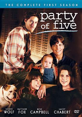 Cover image for Party of five. The complete first season