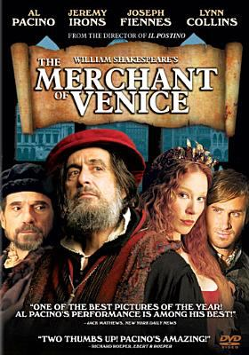 Cover image for William Shakespeare's The merchant of Venice