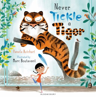 Cover image for Never tickle a tiger