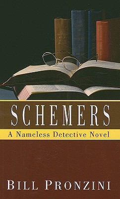 Cover image for Schemers a nameless detective novel