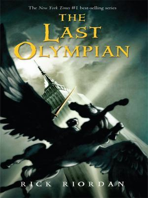 Cover image for The last Olympian