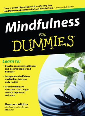 Cover image for Mindfulness for dummies