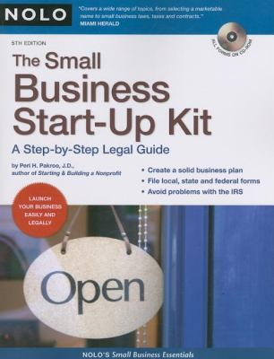 Cover image for The small business start-up kit