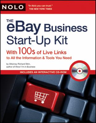 Cover image for eBay business start-up kit : with 100s of live links to all the information & tools you need