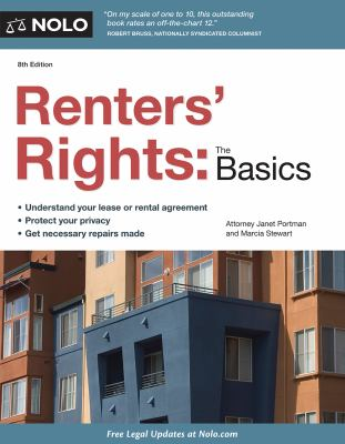 Cover image for Renters' rights : the basics