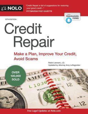 Cover image for Credit repair