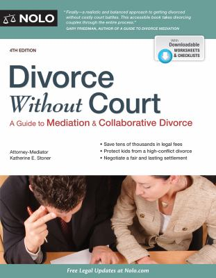 Cover image for Divorce without court : a guide to mediation & collaborative divorce