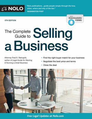 Cover image for The complete guide to selling a business