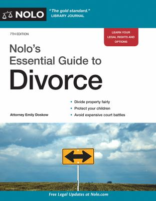 Cover image for Nolo's essential guide to divorce