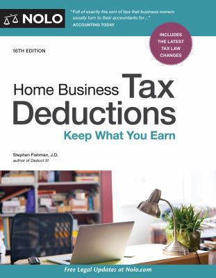 Cover image for Home business tax deductions : keep what you earn