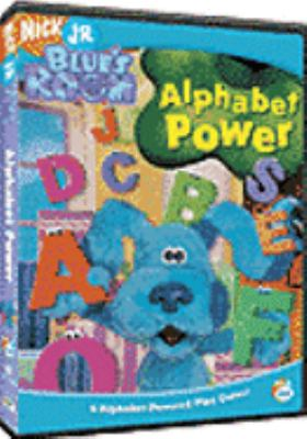 Cover image for Blue's room. Alphabet power