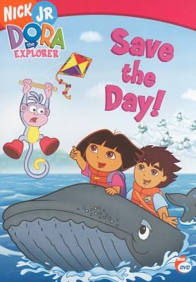 Cover image for Dora the Explorer. Save the day!