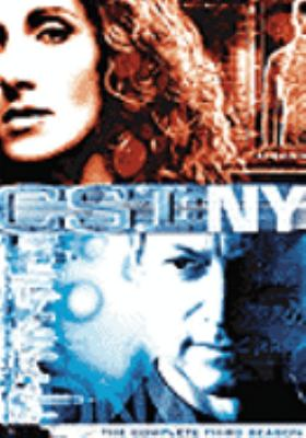 Cover image for CSI: NY. The complete third season