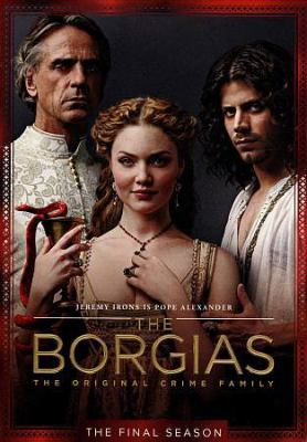 Cover image for The Borgias. The final season