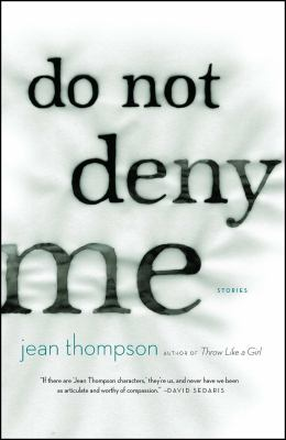 Cover image for Do not deny me : stories