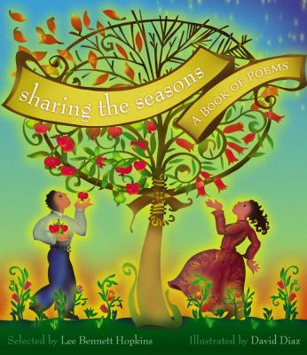Cover image for Sharing the seasons : a book of poems
