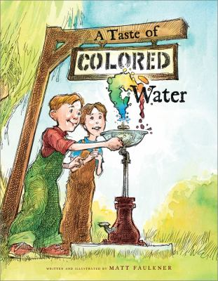 Cover image for A taste of colored water