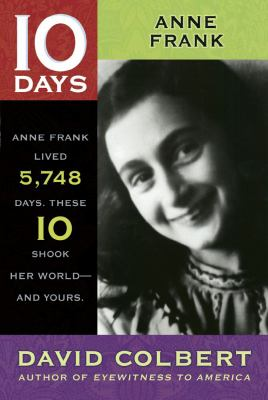 Cover image for 10 days Anne Frank