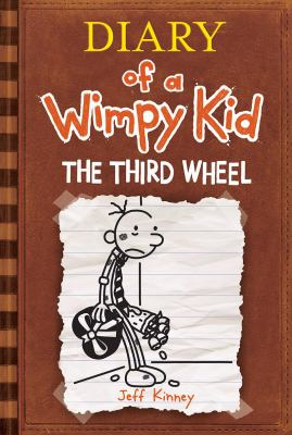 Cover image for Diary of a wimpy kid : the third wheel